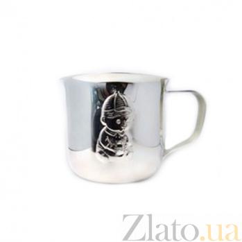 Серебряная чашка Мальчик ZMX--1721_3454