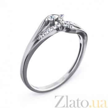 Золотое кольцо с бриллиантами Эжени R 0440/бел
