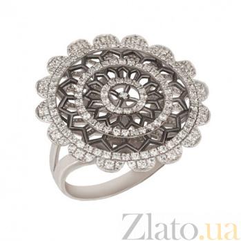 Кольцо из белого золота Астра с цирконием VLT--ТТ1016
