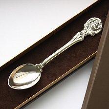 Серебряная чайная ложка Гороскоп Скорпион