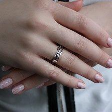 Серебряное кольцо Анжелика