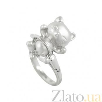 Серебряное кольцо Кис кис 3К928-0005