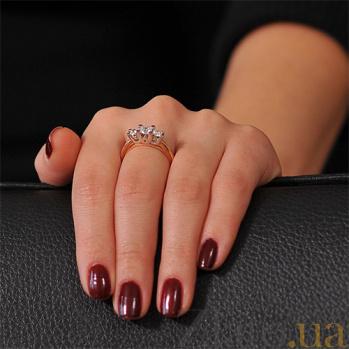 Золотое кольцо с бриллиантами Арлинда EDM--КД7546