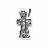 Серебряный крестик Божье благословение