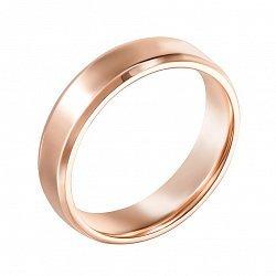 Обручальное кольцо из красного золота 000119646