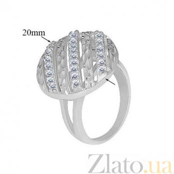 Серебряное кольцо с цирконием Антонина 10000072