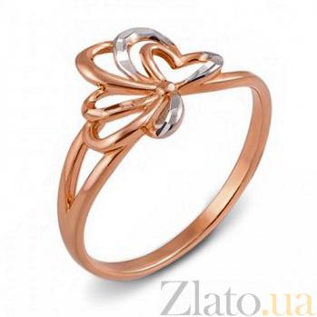 Кольцо из красного золота Стефани 12481