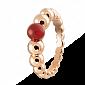 Кольцо из розового золота с сердоликом Perlée R-VCA-Perlée-R-sard