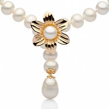Жемчужное ожерелье Вишневый цвет