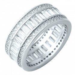 Серебряное кольцо Даяна с фианитами