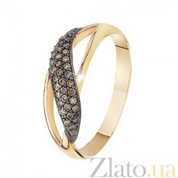 Золотой гарнитур с бриллиантами Азалия KBL--Г0170/крас/брил