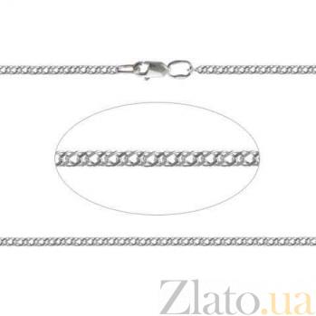 Серебряная цепочка Двойной Ромб AQA-90106204041