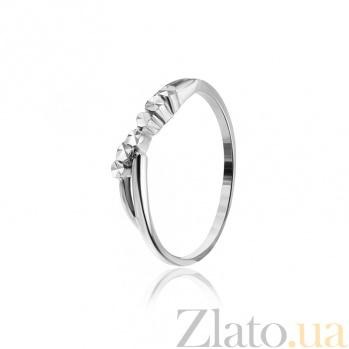 Серебряное кольцо Эльза 000025853