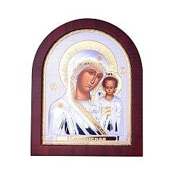 Икона Казанская Божия Матерь с серебрением и позолотой 000131707