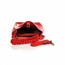 Сумка На Каждый День Italian Bags 8965_red Кожаная Красный
