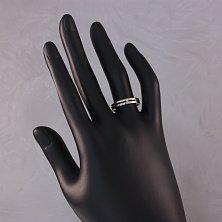 Кольцо из комбинированого золота с бриллиантами Таира