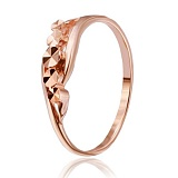 Позолоченное серебряное кольцо Арелие