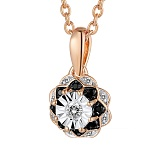 Кулон из золота с бриллиантами Ольга