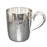 Серебряная чашка Герда и Кай