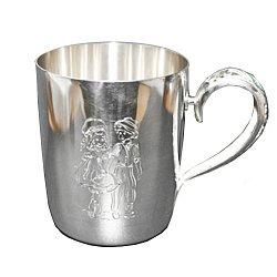 Серебряная чашка Герда и Кай 000043524