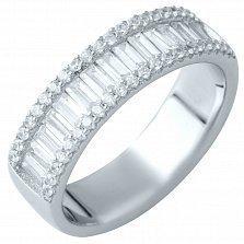 Серебряное кольцо Эмелина с фианитами
