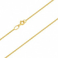 Цепочка из желтого золота Аликанте