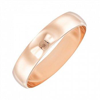 Обручальное кольцо из красного золота 000103664
