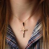 Золотой крестик Силы небесные