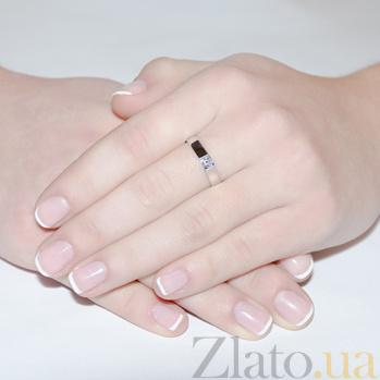 Кольцо из белого золота с бриллиантом Дана R 0648