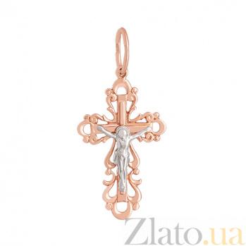 Золотой крестик Сила веры VLN--314-1185