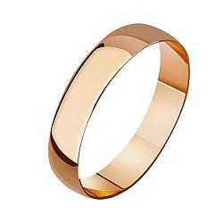 Обручальное кольцо из красного золота 000001623