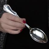 Столовая ложка из серебра Ольга