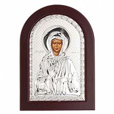 Икона Матроны Московской серебряная