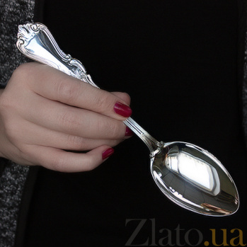 Столовая ложка из серебра Ольга ZMX--110_303