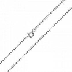 Серебряная цепочка с родием 000027641