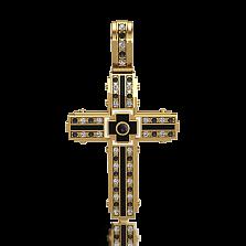 Мужской крест Сaritas с бриллиантами и эмалью
