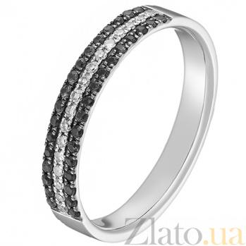 Кольцо Райана в белом золоте с бриллиантами 000043313