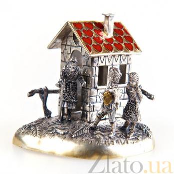 Серебряная статуэтка В гостях у сказки 1432