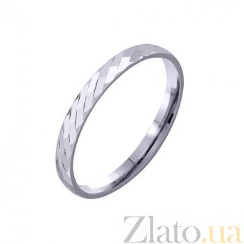 Золотое обручальное кольцо My life TRF--4211163