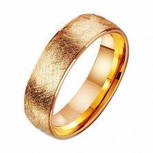 Золотое обручальное кольцо Land of Love
