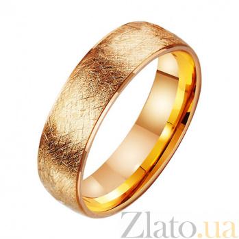 Золотое обручальное кольцо Land of Love TRF--411405