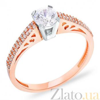 Золотое кольцо с фианитами Грейс SUF--152241