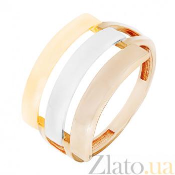 Кольцо из комбинированного золота Любовное письмо 000023852