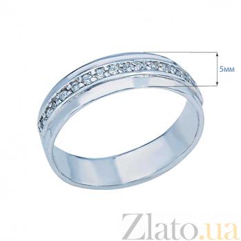 Кольцо серебряное с дорожкой из камней Лунная тропа AQA--S218550271