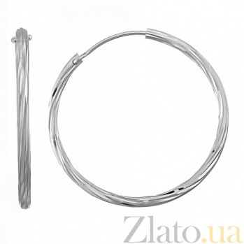Серебряные серьги Рассвет 10030171