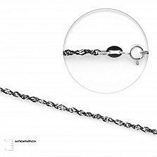 Серебряная цепь Тенерифе, 2мм