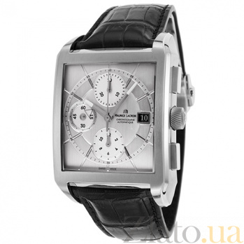 Часы Maurice Lacroix коллекции Rectangle Chrono 3 counters MLX--PT6197-SS001-130
