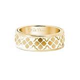 Золотое кольцо с эмалью Согласие: Звезда любви