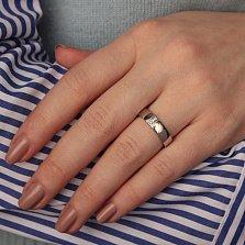 Серебряное кольцо Вероника с бриллиантами