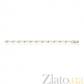Золотой браслет Античность EDM--Б024